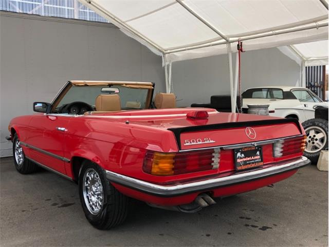 1986 Mercedes-Benz 500 (CC-1344175) for sale in Los Angeles, California