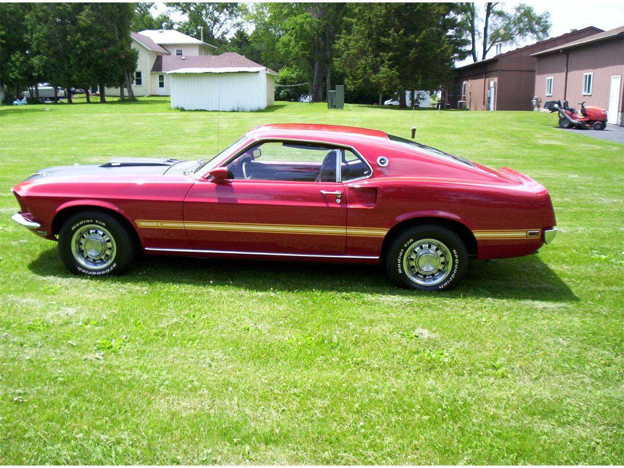1969 Ford Mustang Mach 1 (CC-1344343) for sale in Sun Prairie, Wisconsin