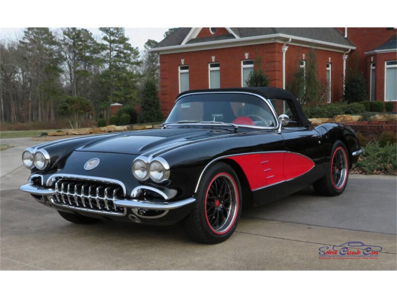 1958 corvette wiring harness 1958 chevrolet corvette for sale classiccars com cc 1344369  1958 chevrolet corvette for sale