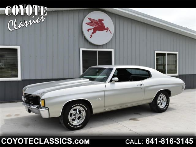1972 Chevrolet Chevelle (CC-1344543) for sale in Greene, Iowa