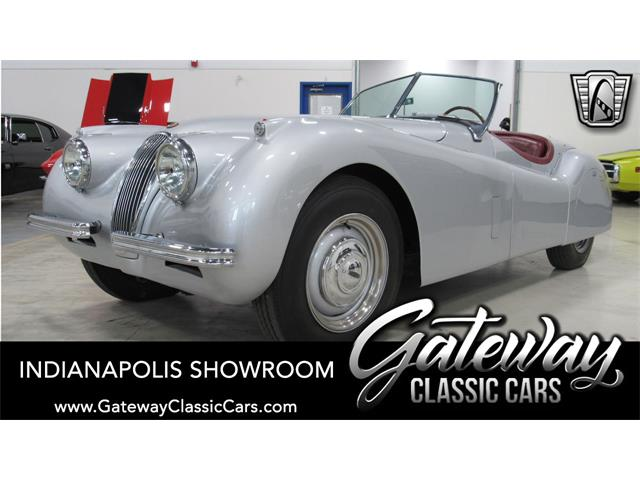 1954 Jaguar XK120 (CC-1344571) for sale in O'Fallon, Illinois