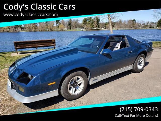 1985 Chevrolet Camaro (CC-1344733) for sale in Stanley, Wisconsin