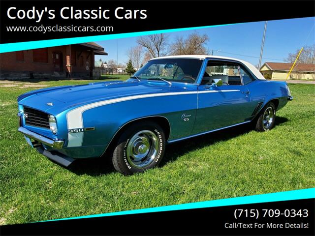 1969 Chevrolet Camaro (CC-1344736) for sale in Stanley, Wisconsin