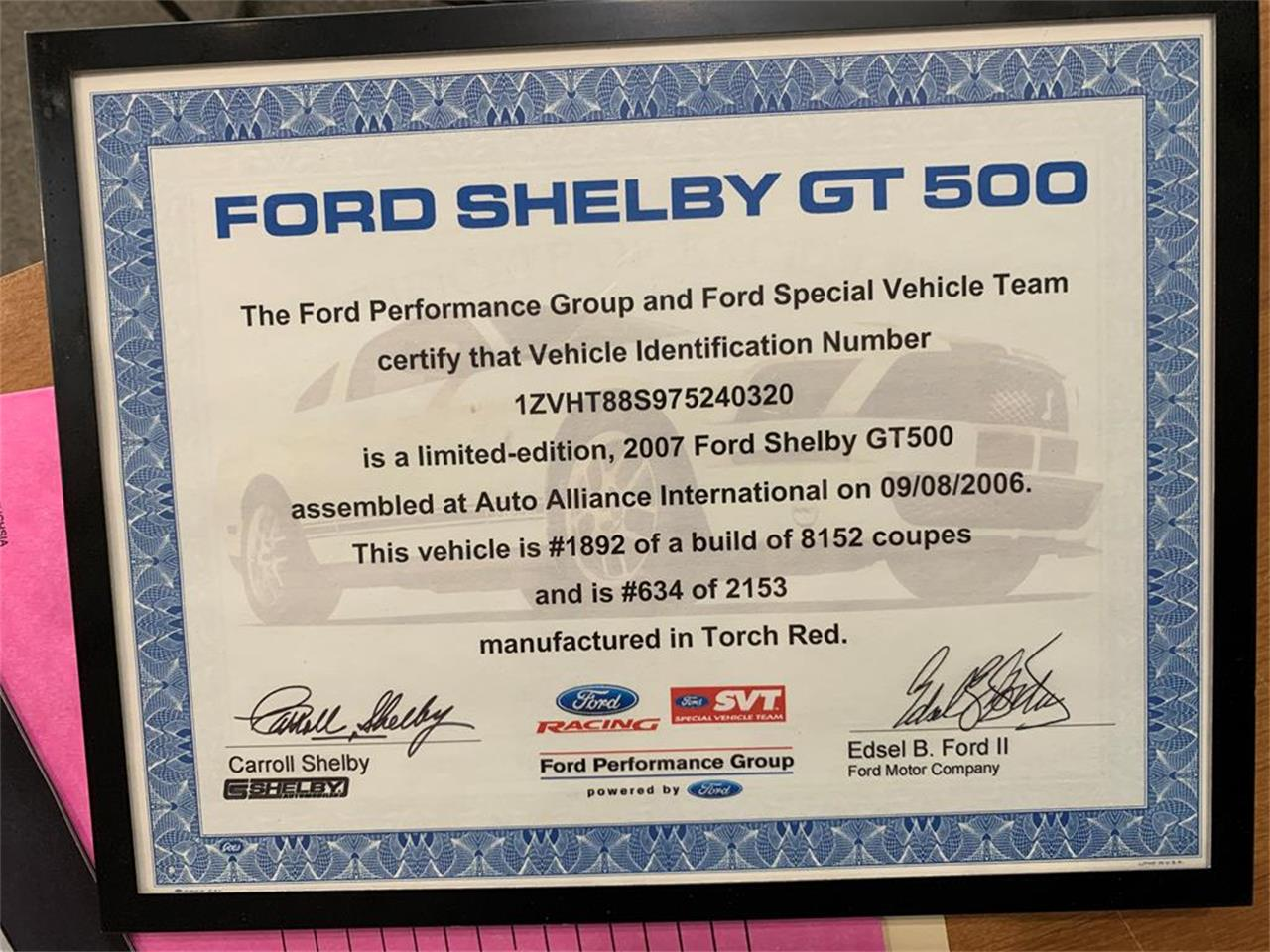 2007 Shelby GT500 (CC-1344741) for sale in Stratford, Wisconsin