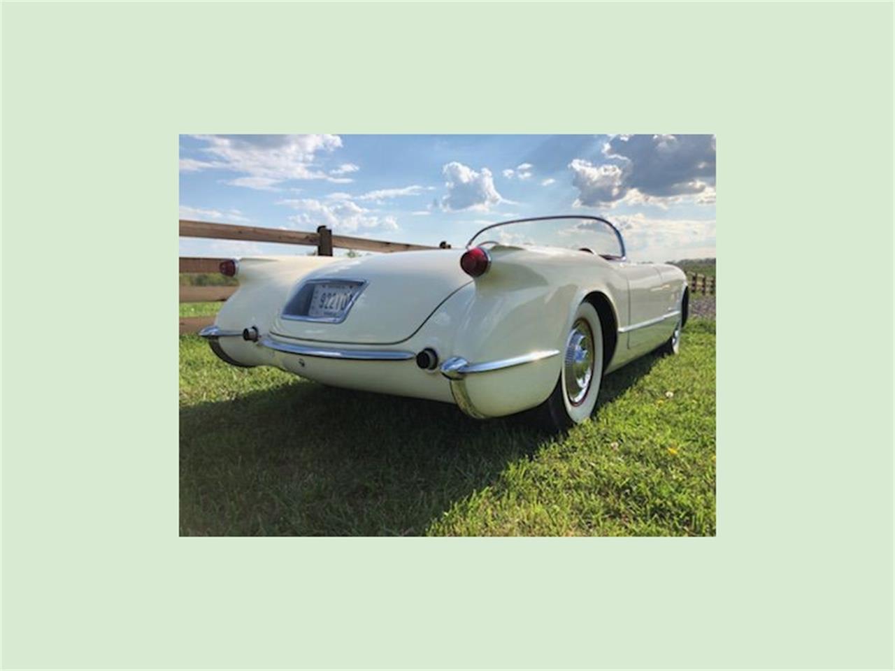 1954 Chevrolet Corvette (CC-1344836) for sale in Belmont, Ohio