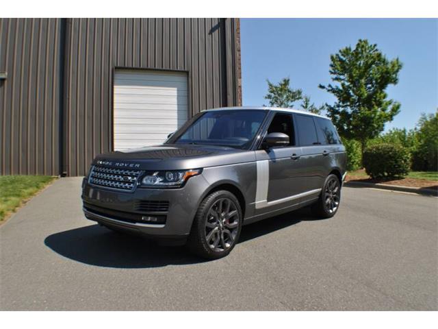 2016 Land Rover Range Rover (CC-1344939) for sale in Charlotte, North Carolina