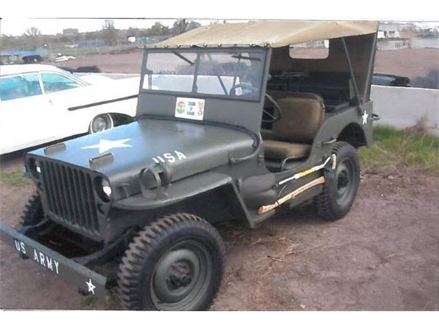 1942 Willys Jeep (CC-1345125) for sale in Cadillac, Michigan