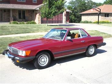 1977 Mercedes-Benz 450SL (CC-1345134) for sale in Cadillac, Michigan