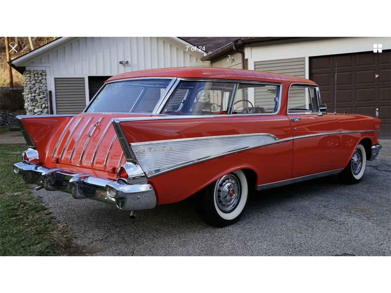 1957 Chevrolet Nomad (CC-1345289) for sale in Madison, Mississippi