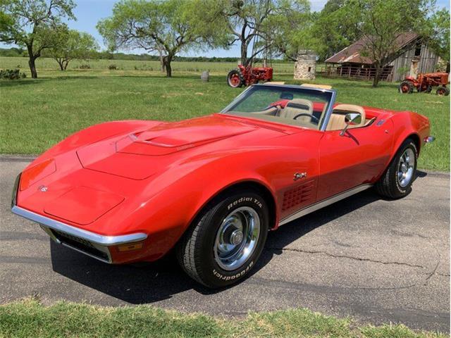 1971 Chevrolet Corvette (CC-1345360) for sale in Fredericksburg, Texas