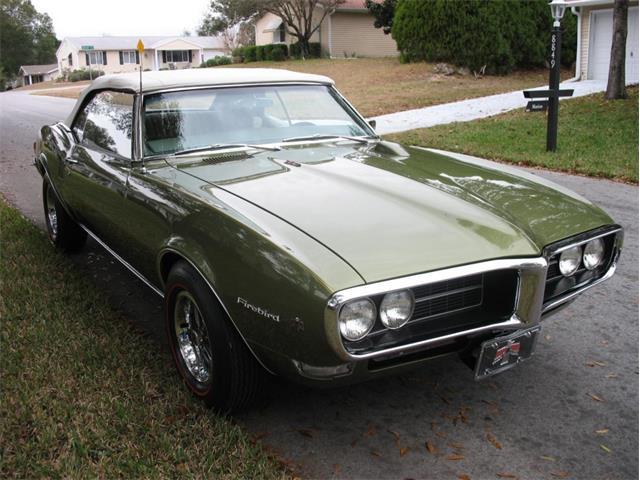 1968 Pontiac Firebird (CC-1345425) for sale in Tampa, Florida