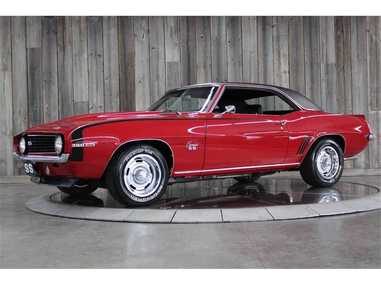 1969 Chevrolet Camaro SS (CC-1346073) for sale in Bettendorf, Iowa