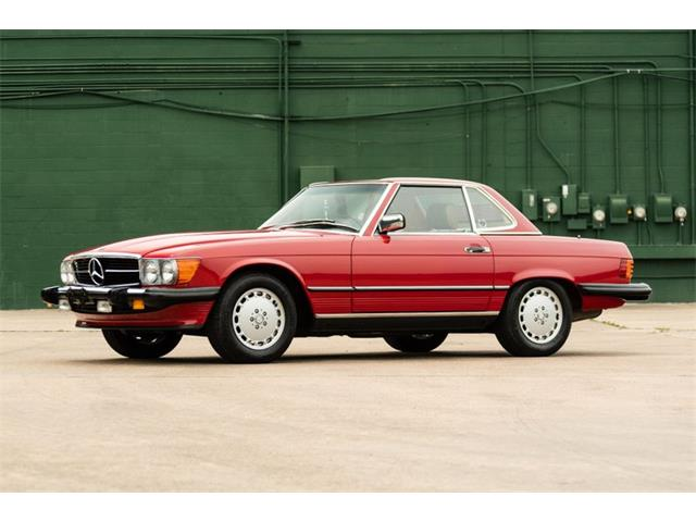 1989 Mercedes-Benz 560SL (CC-1346247) for sale in Houston, Texas
