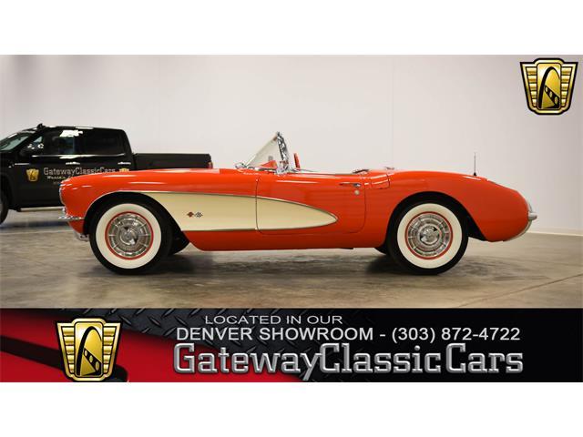 1957 Chevrolet CORVETTE STING RAY Original ADVERTISMENT RED Convertable FREE//SH