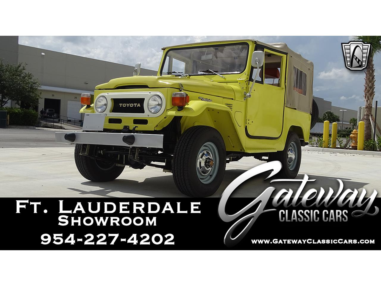 1977 Toyota Land Cruiser FJ40 (CC-1351371) for sale in O'Fallon, Illinois