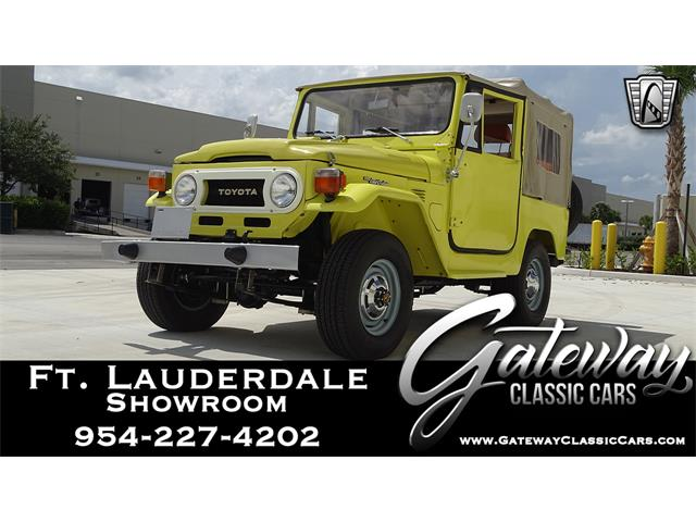 1977 Toyota Land Cruiser FJ40 (CC-1351371) for sale in O'Fallon, Illinois