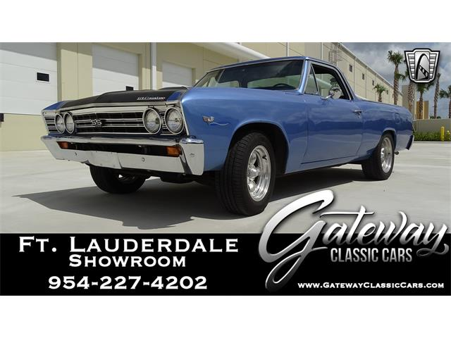 1967 Chevrolet El Camino (CC-1351381) for sale in O'Fallon, Illinois