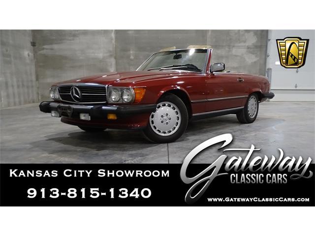 1989 Mercedes-Benz 560SL (CC-1351434) for sale in O'Fallon, Illinois
