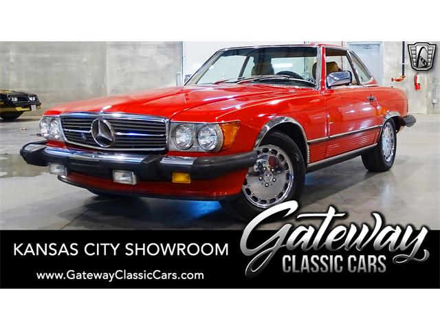 1989 Mercedes-Benz 560SL (CC-1351476) for sale in O'Fallon, Illinois