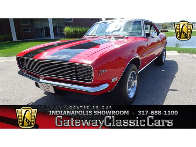 1968 Chevrolet Camaro (CC-1351588) for sale in O'Fallon, Illinois