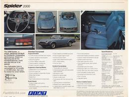 1980 Fiat 124 Spider 2000 (CC-1351614) for sale in INCLINE VILLAGE, Nevada