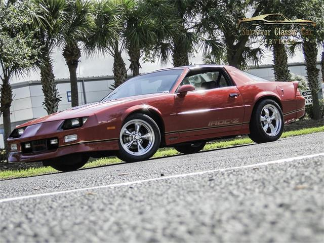 1989 Chevrolet Camaro (CC-1351870) for sale in Palmetto, Florida