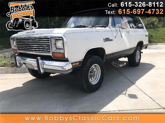 1984 Dodge Ramcharger (CC-1351920) for sale in Dickson, Tennessee