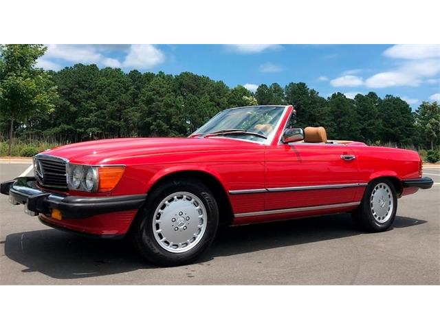1986 Mercedes-Benz 500 (CC-1351924) for sale in Carrollton, Texas