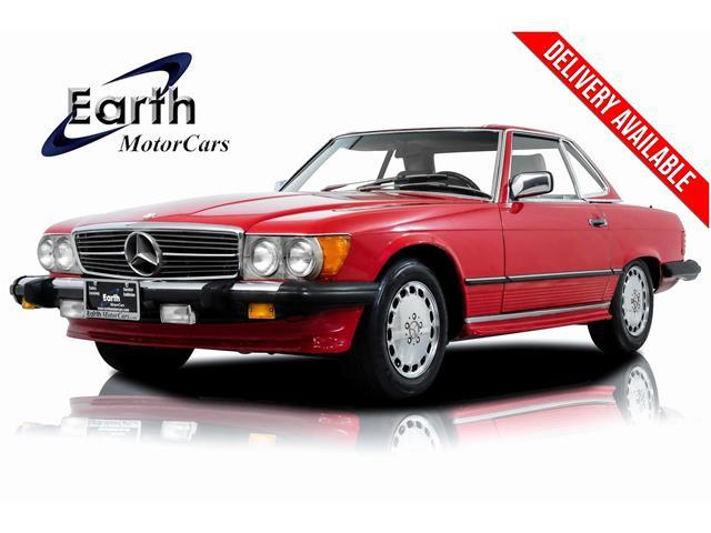 1986 Mercedes-Benz 500 (CC-1351924) for sale in Carrollton, Texas