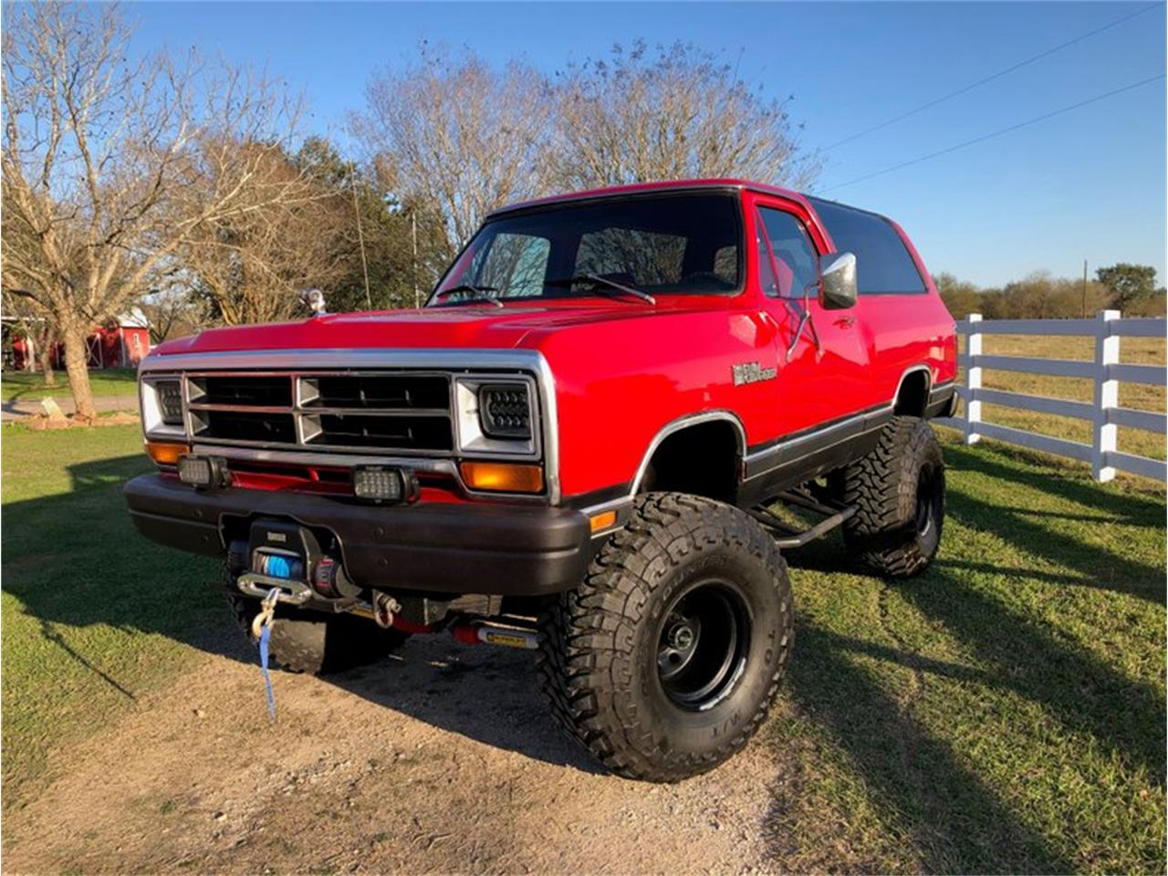 1986 Dodge Ramcharger (CC-1350195) for sale in Goliad, Texas