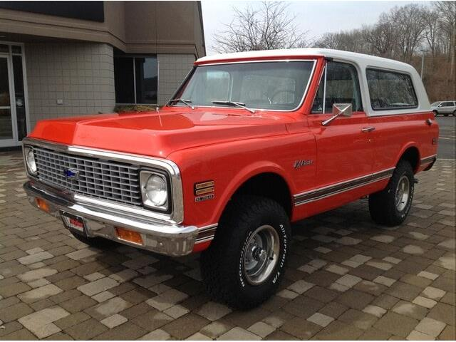1972 Chevrolet Blazer (CC-1351970) for sale in Milford, Ohio