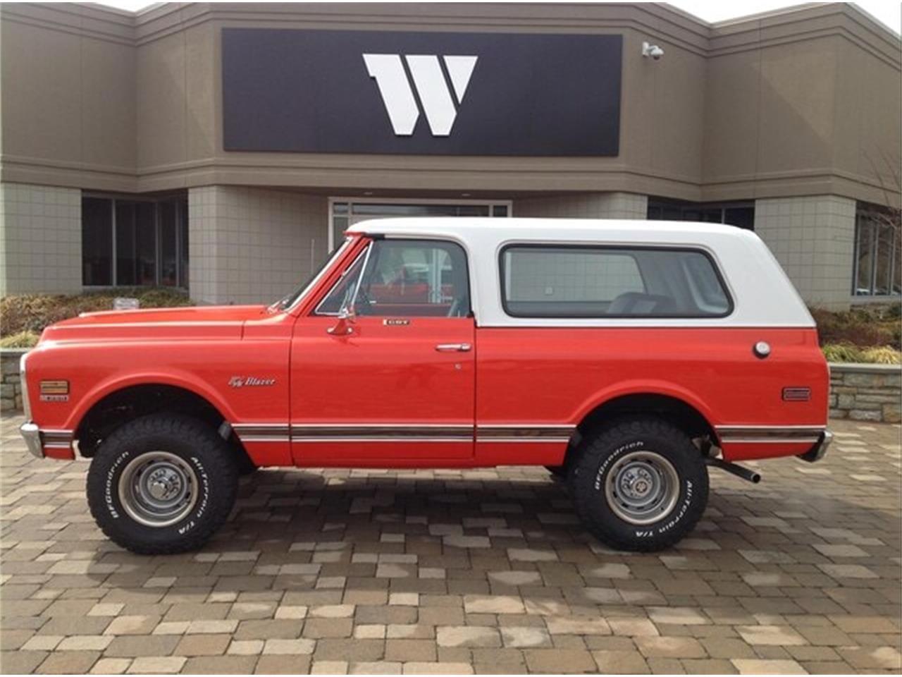 1972 Chevrolet Blazer (CC-1351970) for sale in Milford, Ohio