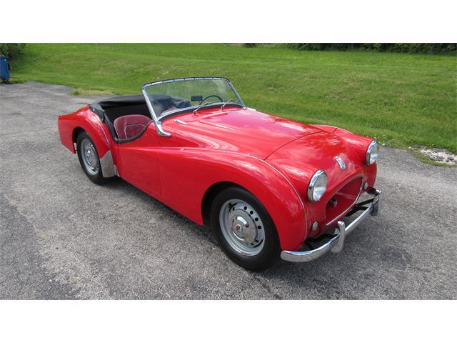 1957 Triumph TR3 (CC-1350203) for sale in WASHINGTON, Missouri