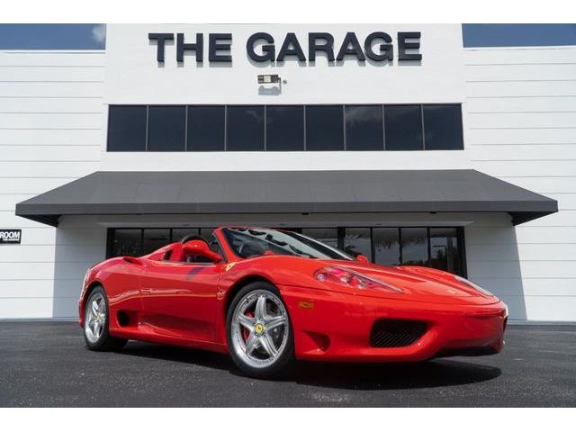 2002 Ferrari 360 (CC-1352094) for sale in Miami, Florida