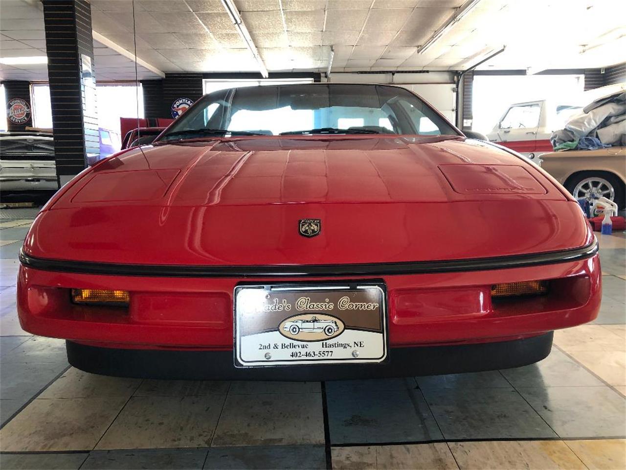 1988 Pontiac Fiero (CC-1352119) for sale in Hastings, Nebraska
