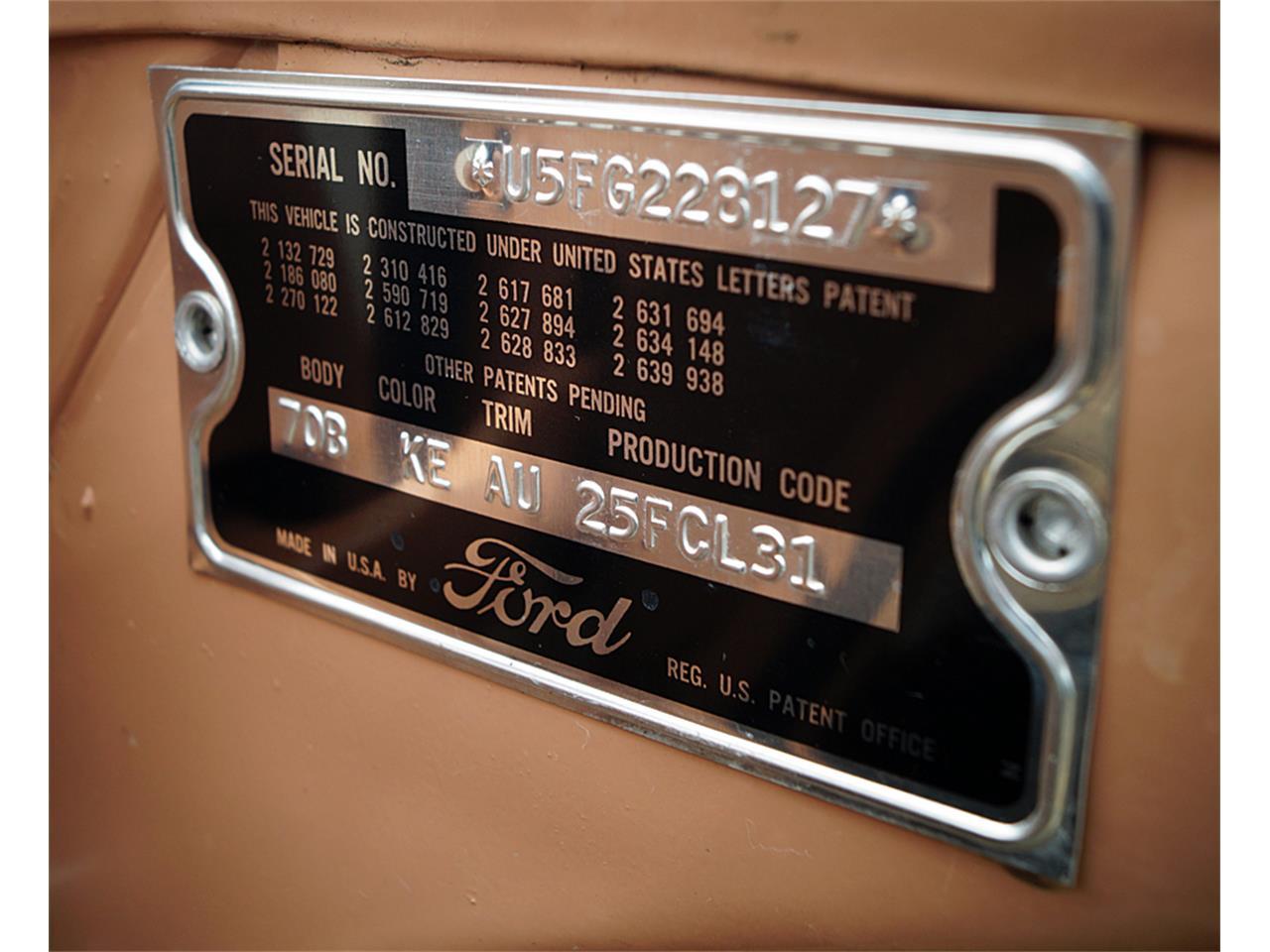 1955 Ford Customline (CC-1352130) for sale in Canton, Ohio