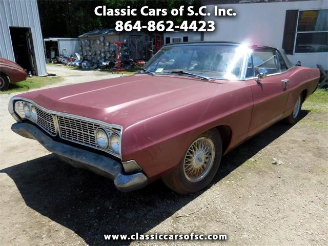 1968 Ford Galaxie 500 (CC-1352225) for sale in Gray Court, South Carolina