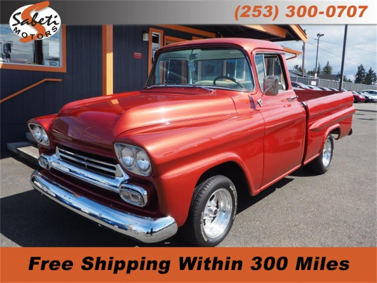 1958 Chevrolet Apache (CC-1352370) for sale in Tacoma, Washington
