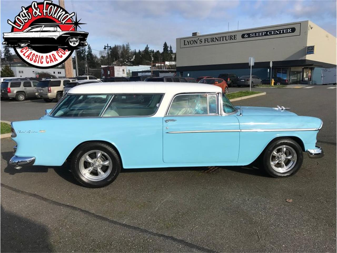 1955 Chevrolet Nomad (CC-1352373) for sale in Mount Vernon, Washington