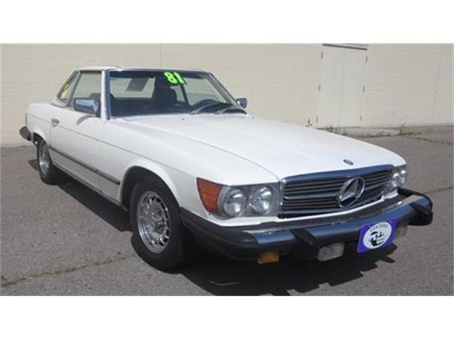 1981 Mercedes-Benz 380SL (CC-1352462) for sale in TACOMA, Washington