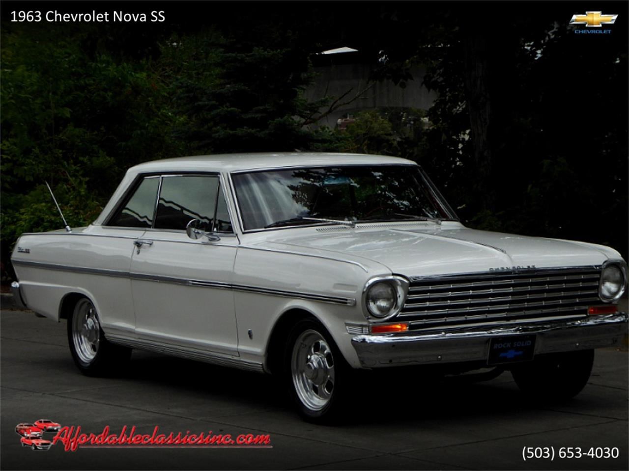 1963 Chevrolet Nova SS (CC-1352534) for sale in Gladstone, Oregon