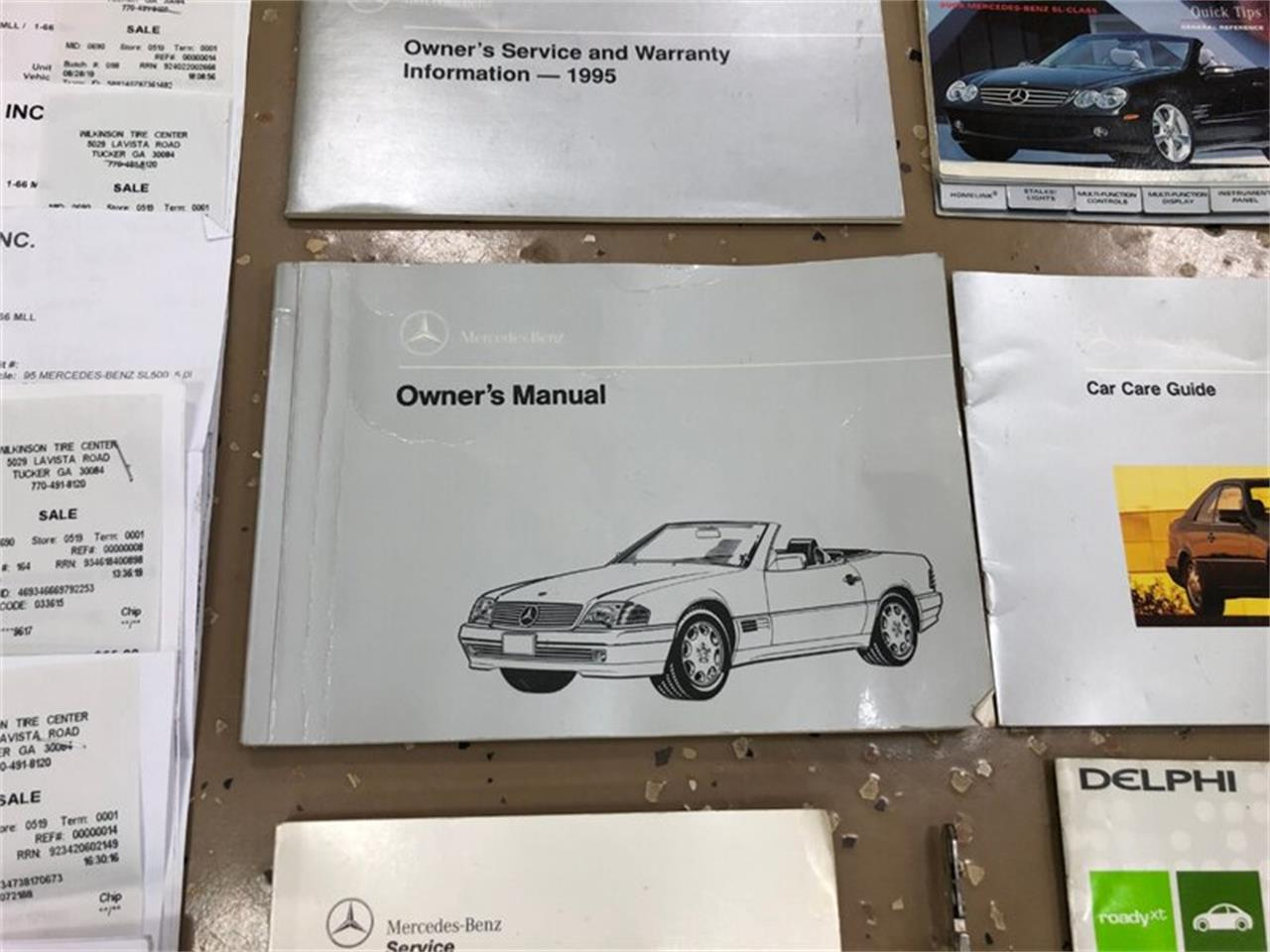 1995 Mercedes-Benz SL500 (CC-1352583) for sale in Delray Beach, Florida