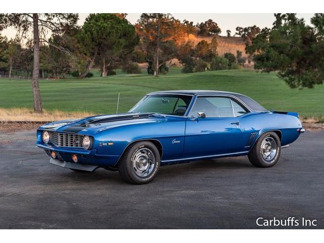 1969 Chevrolet Camaro (CC-1352663) for sale in Concord, California