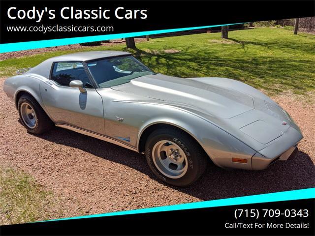 1977 Chevrolet Corvette (CC-1350269) for sale in Stanley, Wisconsin