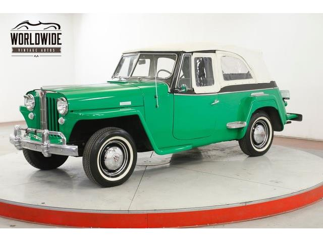 1949 Willys Jeepster (CC-1352775) for sale in Denver , Colorado