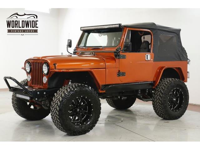 1986 Jeep CJ7 (CC-1352776) for sale in Denver , Colorado