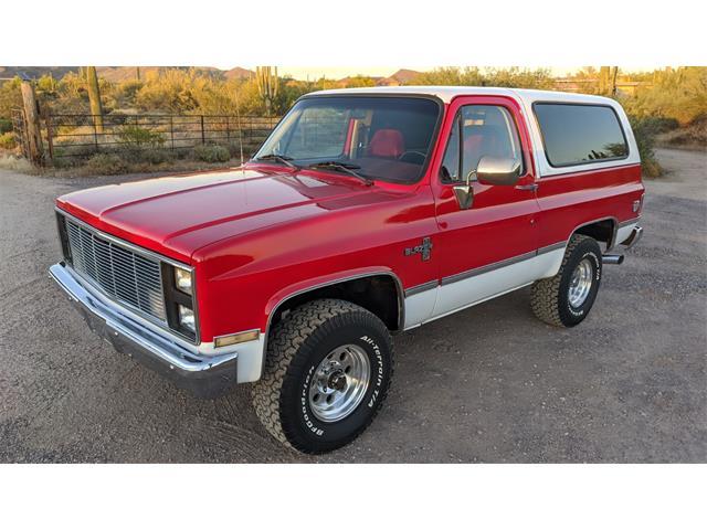 1987 Chevrolet Blazer (CC-1353115) for sale in Scottsdale, Arizona