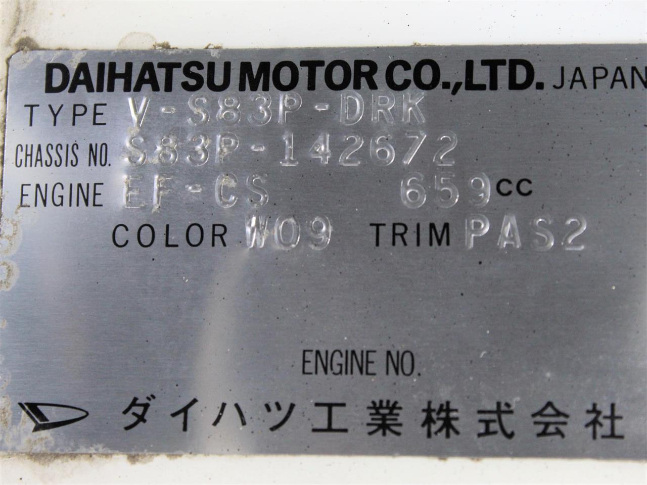 1993 Daihatsu Hijet (CC-1353164) for sale in Christiansburg, Virginia