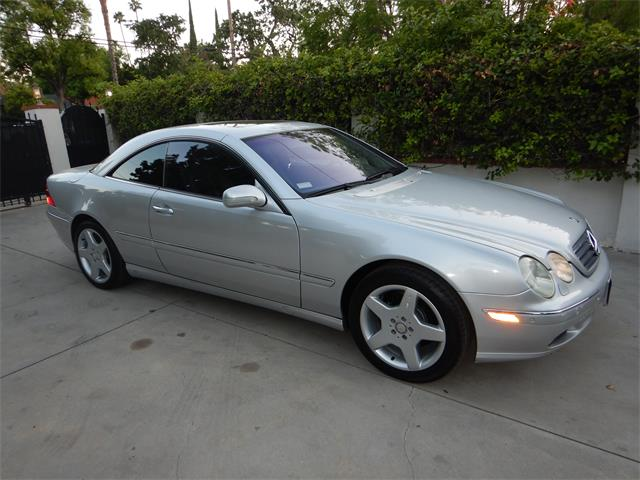 2001 Mercedes-Benz CL500 (CC-1353362) for sale in woodland hills, California
