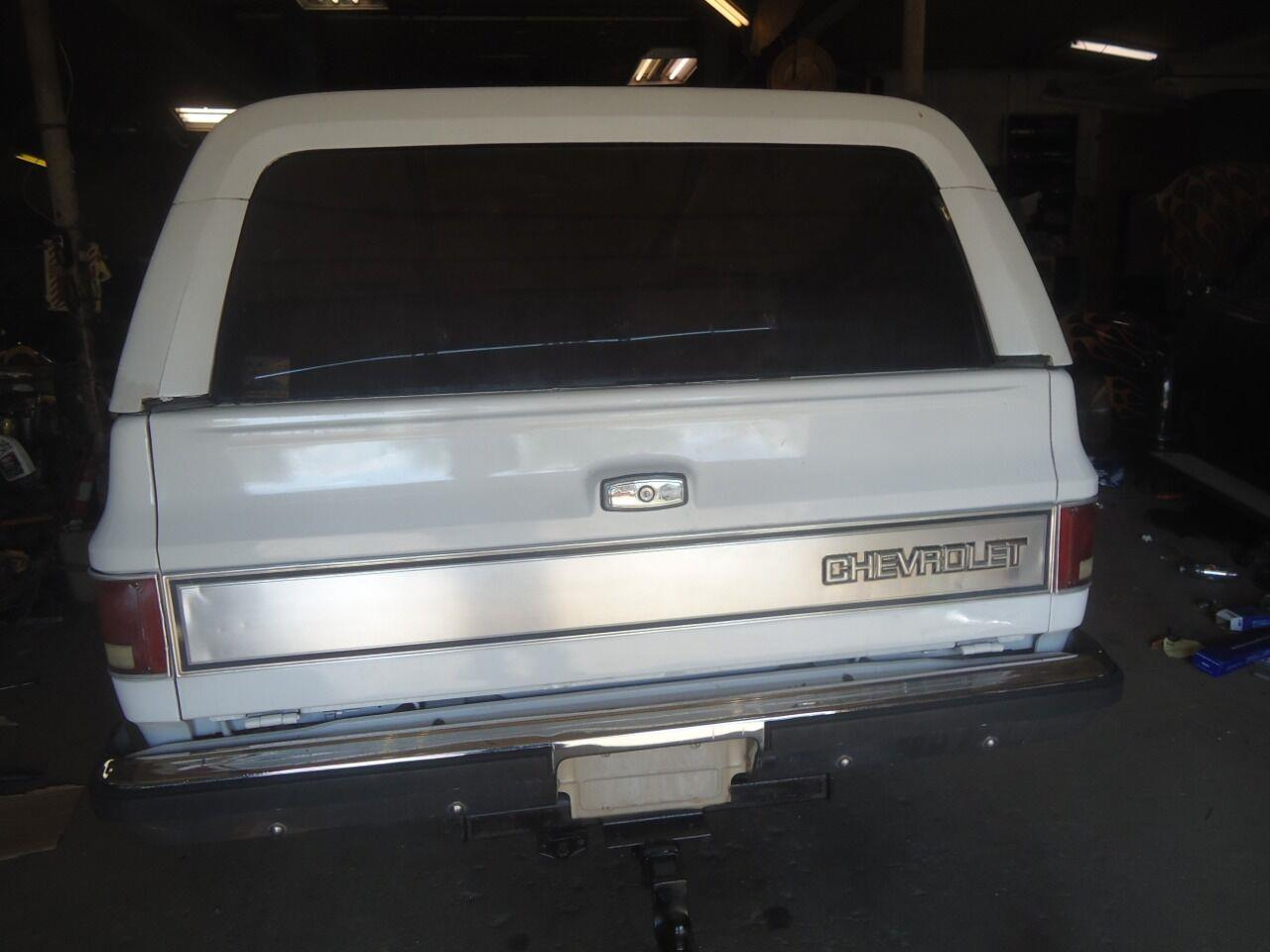 1986 Chevrolet Blazer (CC-1353509) for sale in Jackson, Michigan
